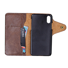 Guangzhou Mobile Phone Shell for iphone 7 /8/X protective flip stand wallet leather case cover
