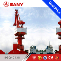 SANY SGQ4043S 40ton Portal Crane Portal Crane Harbour Heavy Lift Rail Type Jib Crane for Sale