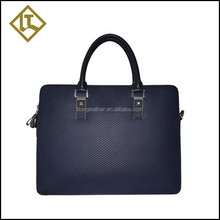 Good quality high grade genuine leather office briefcase bag