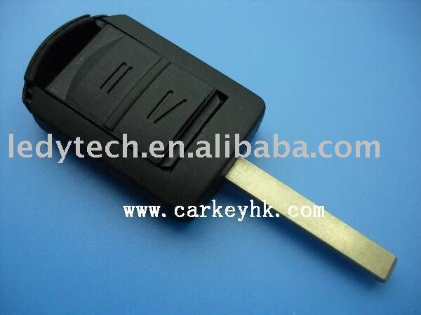 Hot sell auto blank key for Opel Corsa 2 button remote key shell