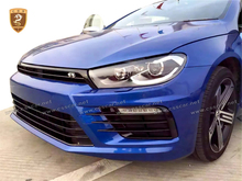PP newest car body kit for vw scirocco to r best body kit tuning