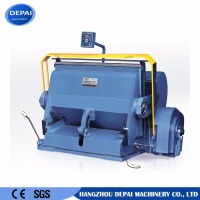 Hot sell corrugated paperboard die cutting and creasing making machine prices