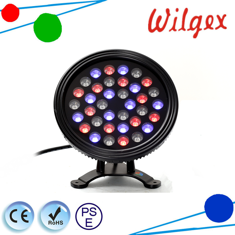 IP68 waterproof DMX LED RGB led underwater swimming pool light