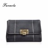 2018 New Design Trend Slim Lady Leather Purse Wallet