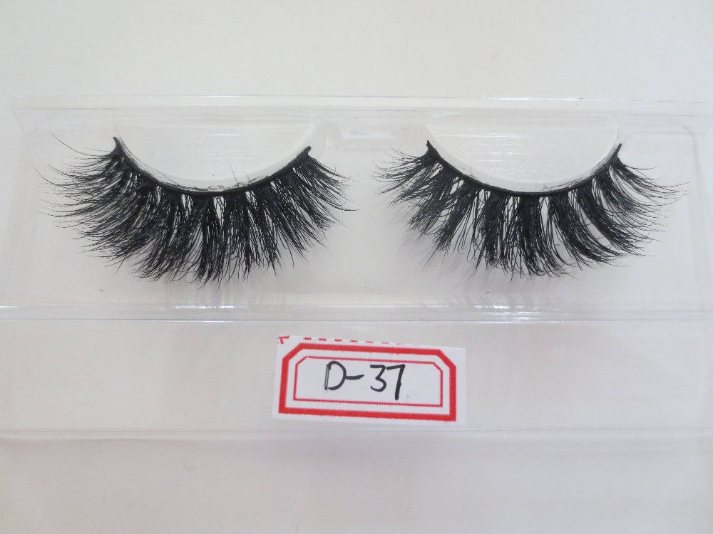 100% Real Siberian 3D Mink Full Strip False Eyelash Long Individual Eyelashes Mink Lashes Extension