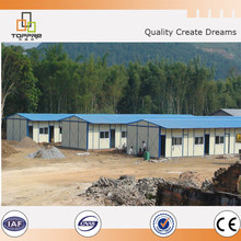 Cheap prefab home temporary prefabricated cabin block house for Africa