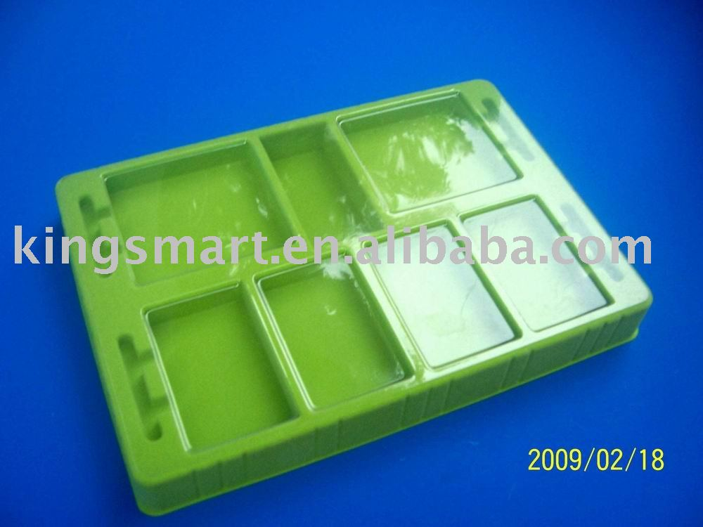 plastic food tray package