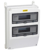 Power Input and Output Electrical Breaker Control BoxDin Rain Enclosure