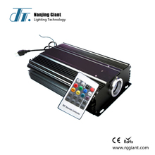 dmx available 75w led fiber optic light projector engine