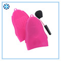 Hot selling silicone make up brush cleaner mat with FDA approval