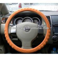 Hot! Universal size new fashion anti-slip silicone car steering wheel cover