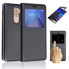 For Huawei Honor 6x Slim PU Leather Flip Phone Case Shockproof Dormant Phone Case Cover