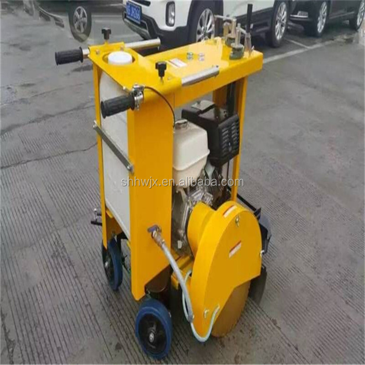 Hot selling diesel asphalt concrete groove cutter, road cutting machine