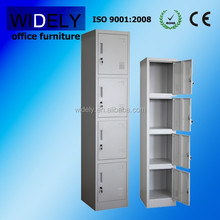 Movable metal 4 drawers steel file cupboard for office furniture