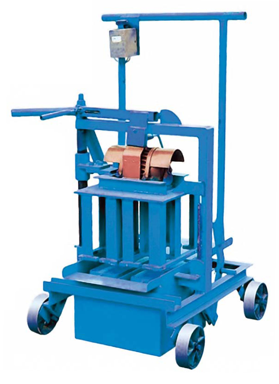 QM40A egg layer concrete block making machine mobile egg laying block molder