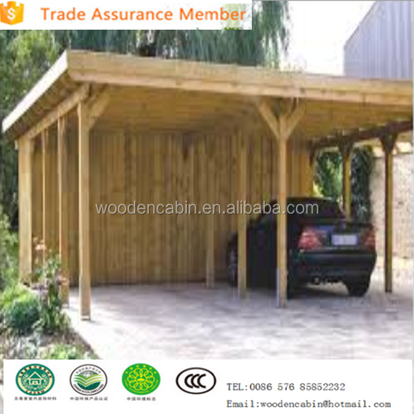 Wooden carport with good quality