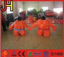 High quality sumo suits for kids, fighting inflatable sumo suits, adults inflatable sumo wrestling