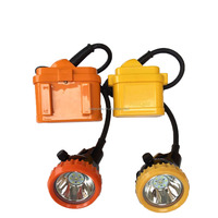Ni-mh battery 10000lux portable safety LED miners caplights hat light mining helmet light for sale