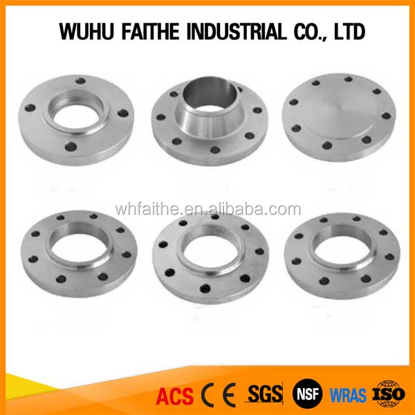 ASME BS DIN Carbon Steel/Stainless Steel Flange