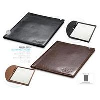 A4 Simulated Leather Folder