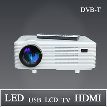 High Quality low price 150W led lamp portable LED Intellige controller projector 3000 lumens 1280*800P for family film and fun