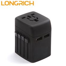 All in one travel adapter 220v male female electrical plug types MPC-N4