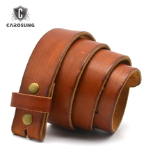 Classic Pin Buckle Belt 100% Cowhide Genuine Leather Belts For Man