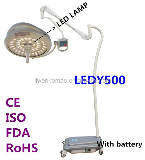 Exam lights surgical shadowless OT or OR operation light(High Grade Mobile Model)