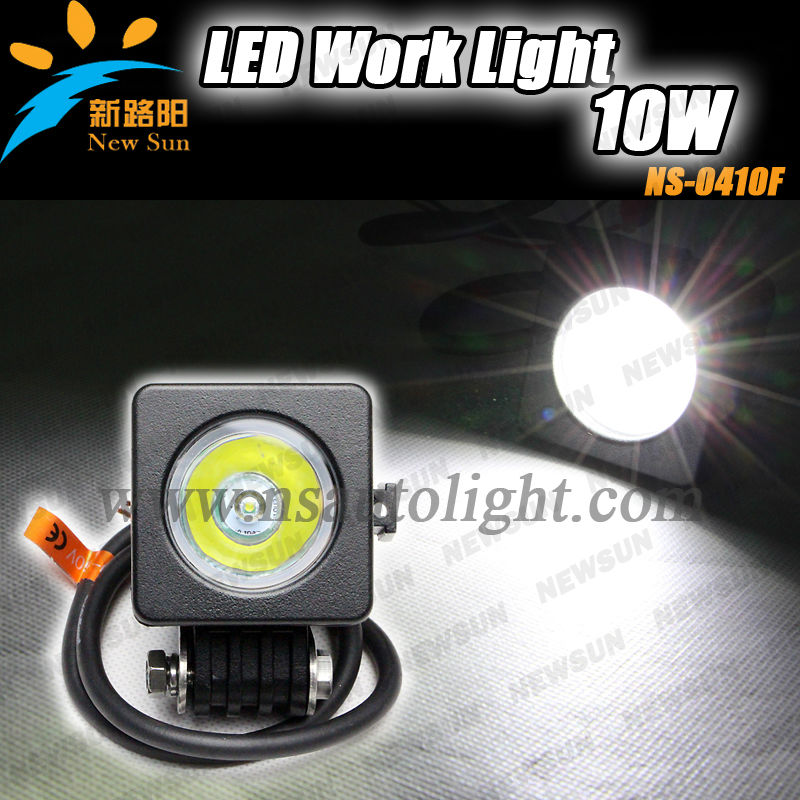 4x4 offroad 10W LED High power 10W LED work light,FLOOD,EURO,SPOT beam,10W C REE LED working Light , super bright, IP67