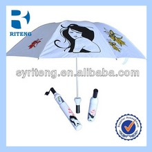 Fashional promotional customized deco umbrella bottle