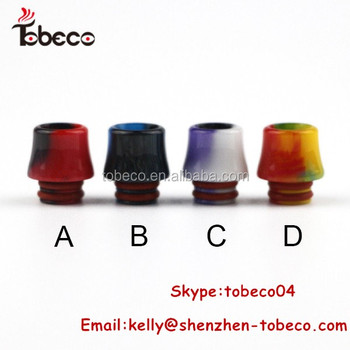 2017 Innovative TFV8 baby/Epoxy Resin TFV8 baby drip tip for wholesale