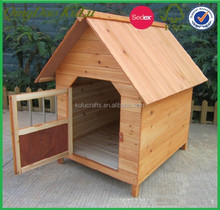 new wooden small dog house with door ,wooden pet house