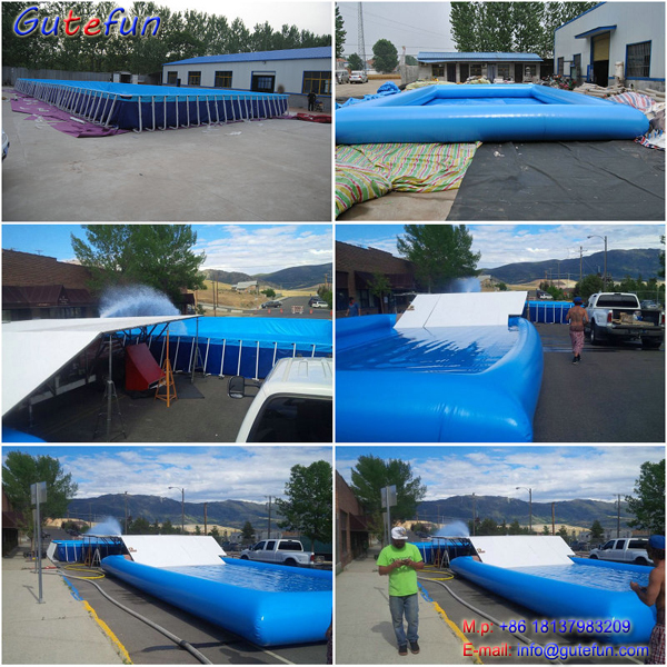 products promotion swimming steel frame pools