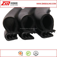 Black Co-extruded EPDM Rubber Car Door Seals