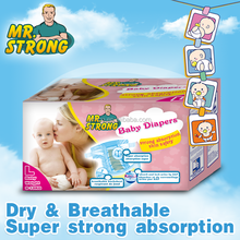 Free Sample Pampered Baby Diaper Manufacturer In China