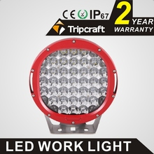 185W Round LED Work Light SPOT FLOOD BEAM OFFROAD Driving Lamp BOAT Light