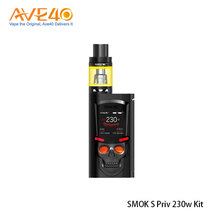 2017 Trend Product Electronic Cigarette Kit Ergonomic Design SMOK S-Priv 230W Kit With TFV8 Big Baby Tank