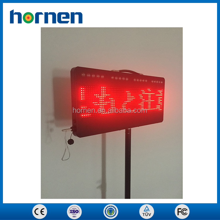 Portable outdoor road cnstruction led display signs