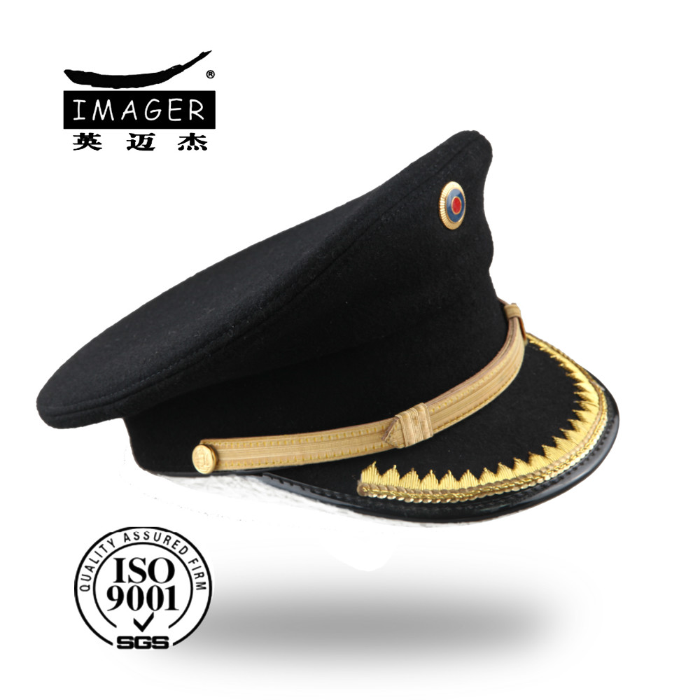 Custom made fitted military corporal hat