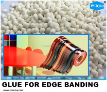 high grade edge banding hot melt glue for PVC film to MDF board