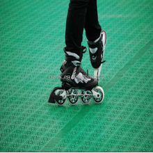 Synthetic ice skating rink / roller skating / portable hockey training flooring tile