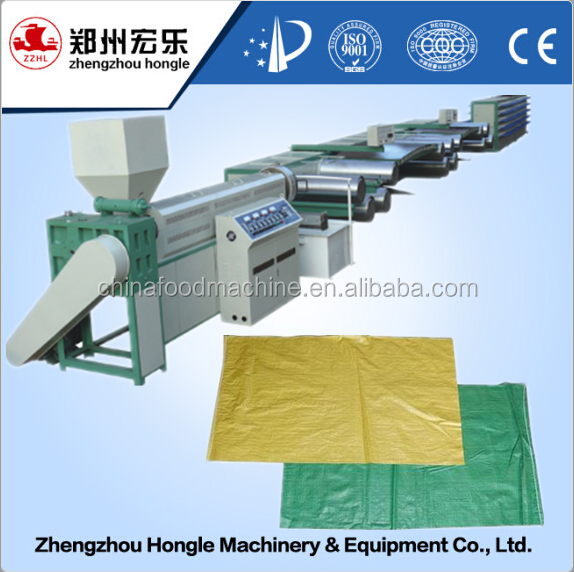PP non woven bag production line woven bag making machine