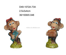 2016 small polyresin monkey for Russia