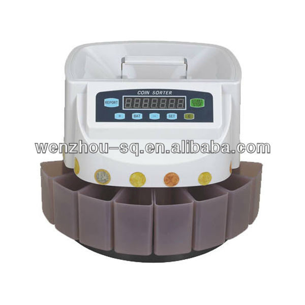 Portable Coin Counter&Sorter Coin Counting Machine With Handle
