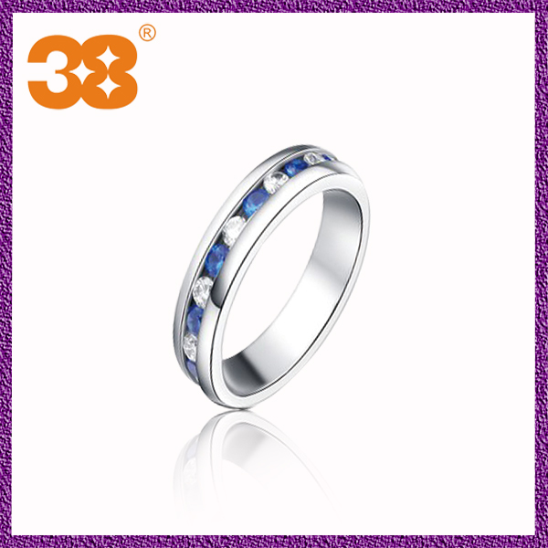 Cheap wholesale women custom made non magnetic stainless steel ring
