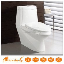 Exalted Hot Selling Luxury design Sanitary Ware Factory One Piece WC Toilet