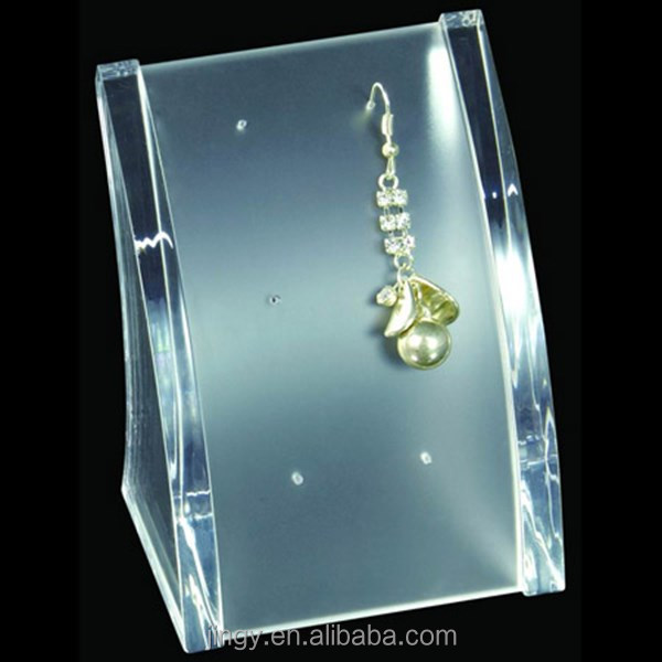 high quality clear acrylic earring dangler display