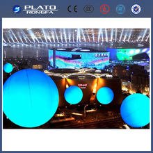 the latest giant inflatable LED helium light balloon with wifi or remote control