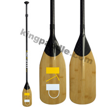 SUP Paddle Manufacturer, High Quality Carbon Fiber Bamboo SUP Paddle
