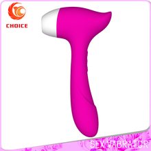 Silicone Adult Electric Shock Sucking Female Vagina Penis Vibrator Sex Toy